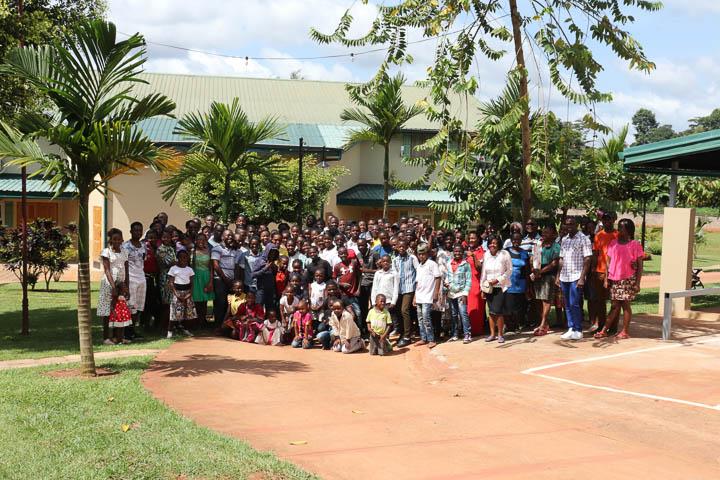 Church members in Yaoundé