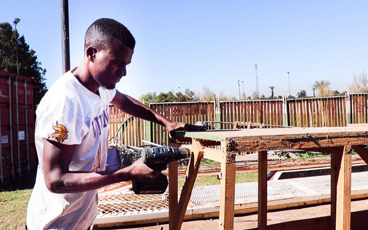 Carpentry on-the-job training