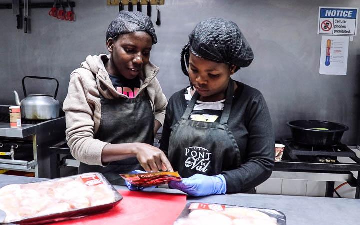 Kitchen on-the-job training