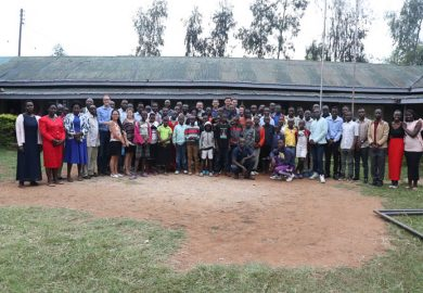 Youth conference participants