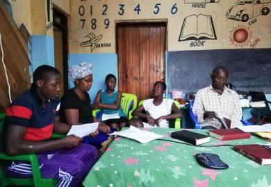Bible study in Mwanza, Tanzania