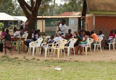 Youth activities spectators