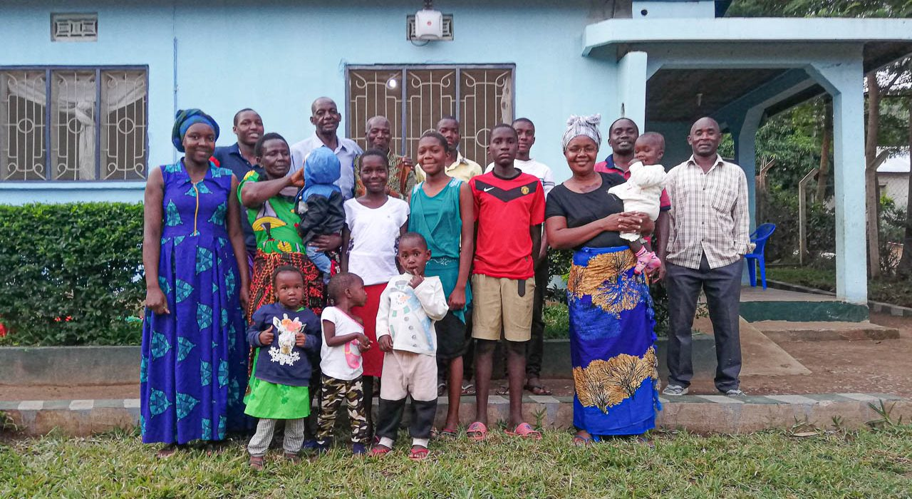 Members of a small fellowship in Tanzania