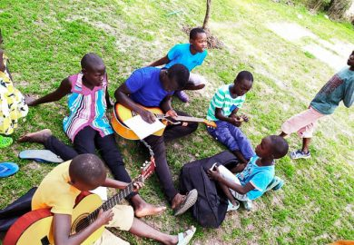 Music lessons for the children